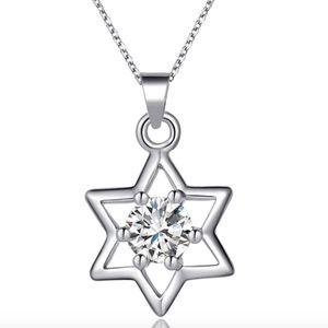 Jewelry - Austrian Crystal Jewish Star Of David Necklace